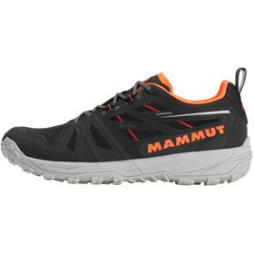 Mammut Saentis Low GTX Schoenen Heren, black-vibrant orange